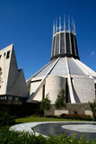 Metropolitan Cathedral Liverpool. Picture of the Metropolitan Cathedral of Liverpool royalty free stock image