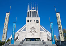 Metropolitan Cathedral, Liverpool, UK Stock Photography