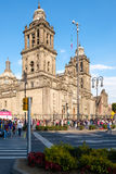 The Metropolitan Cathedral in Mexico City Stock Photos