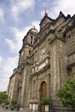 Metropolitan Cathedral in Mexico city. Stock Image