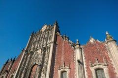 Metropolitan Cathedral, Mexico City Stock Photo