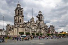 Metropolitan Cathedral - Mexico City, Mexico stock photo