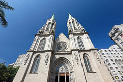 Free Metropolitan Cathedral Or Se Cathedral In Sao Paulo, Brazil Royalty Free Stock Photography - 53366047