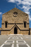Metropolitan Cathedral of  Rhodes, Greece Stock Photos