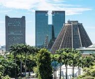 Metropolitan cathedral in Rio. De Janeiro, Brazil Royalty Free Stock Image