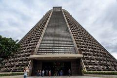 Metropolitan Cathedral of Rio De Janeiro Royalty Free Stock Photo