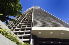 The Metropolitan Cathedral of Rio de Janeiro, officially San Seb stock photos