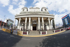 Metropolitan Cathedral. San jose costa rica architectural heritage 1802 Royalty Free Stock Photo