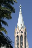 Metropolitan Cathedral or Se Cathedral in sao paulo, brazil Stock Image