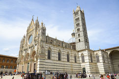 Metropolitan Cathedral of St. Mary assumed, Siena Royalty Free Stock Photo