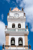 The Metropolitan Cathedral in Sucre, Bolivia Stock Images
