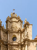 Metropolitan Cathedral–Basilica of the Assumption of Our Lady of Valencia Royalty Free Stock Image