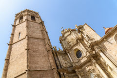Metropolitan Cathedral–Basilica of the Assumption of Our Lady of Valencia Stock Images