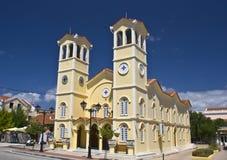 Metropolitan church at Lixouri of Greece Royalty Free Stock Image