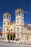 Metropolitan church at Lixouri in Greece Stock Images