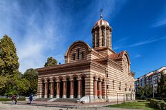 Metropolitan church  in Targoviste, Romania