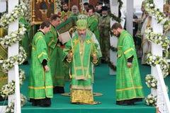 Metropolitan di Kiev e di tutta l'Ucraina Onuphrius (Berezovskij) Fotografia Stock