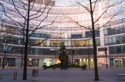 Metropolitan di Regus Varsavia - centro dell'ufficio Immagine Stock Libera da Diritti