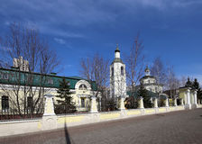 Metropolitan (holy hierarch) Philip's Church in the suburb Meschanskoy. Moscow, Russia Stock Photos