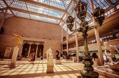 Metropolitan Museum of Art, πόλη της Νέας Υόρκης, ΗΠΑ Στοκ Εικόνα