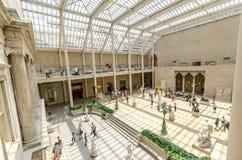 Metropolitan Museum of Art, πόλη της Νέας Υόρκης, ΗΠΑ Στοκ φωτογραφία με δικαίωμα ελεύθερης χρήσης