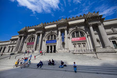 Metropolitan Museum of Art. The Metropolitan Museum of Art, known colloquially as The Met, is an art museum located on the eastern edge of Central Park, along Stock Image