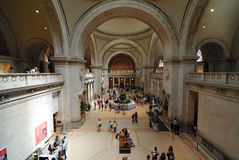 Metropolitan museum of art Stock Photography