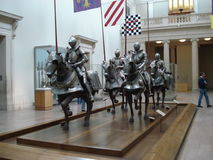 Metropolitan Museum of Art, Arms and Armor gallery, New York Royalty Free Stock Photos