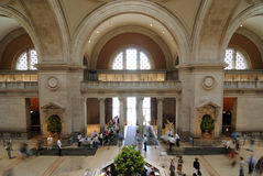 Metropolitan Museum of Art Great Hall Stock Photos