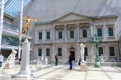 The Metropolitan Museum of Art located in New York City, is the largest art museum in the United States and one of the ten largest. New York, United States - May stock photo