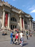 The Metropolitan Museum of Art, the Met, Sagging Pants, Manhattan, New York City, NY, USA stock image