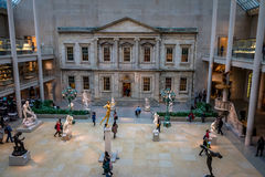 Metropolitan Museum of Art - New York City, USA stock photos