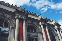 The metropolitan museum of art in New York stock images