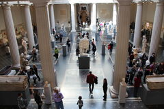 Metropolitan museum interior Royalty Free Stock Images