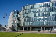 The Metropolitan Office Building in Warsaw, stock photo