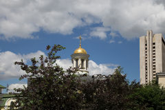 Metropolitan Philip's Church in Moscow, Russia Royalty Free Stock Images