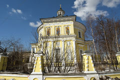 Metropolitan Philip's Church in the suburb Meschanskoy. Moscow Stock Photography