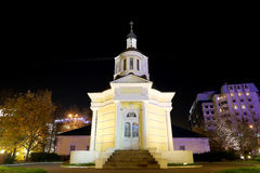 Metropolitan Philip's Church in the suburb Meschanskoy. Moscow, Russia Stock Photos
