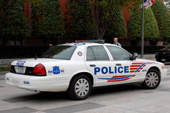 Metropolitan Police Car, Washington DC Stock Images