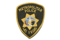 Metropolitan Police clothe Badge Stock Photography