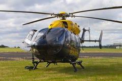 Metropolitan Police Helicopter Stock Photo