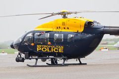 Metropolitan Police helicopter Royalty Free Stock Image