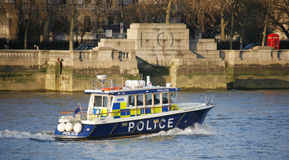 Metropolitan Police Marine Policing Unit Stock Photo