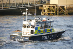 Metropolitan Police Marine Policing Unit Royalty Free Stock Photography