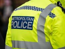 Metropolitan Police Sign Royalty Free Stock Photography
