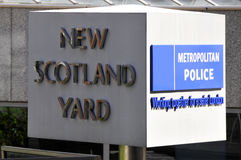 Metropolitan Police sign Stock Images
