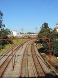 Metropolitan railway Royalty Free Stock Photo