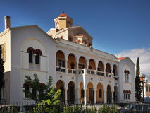 Metropolitan residence in Limassol. Cyprus Stock Photos