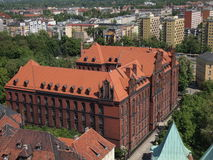 Metropolitan Seminary in Wroclaw Royalty Free Stock Photos