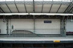 Metropolitan station in Paris Stock Image